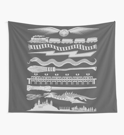Wizard Whimsy Wall Tapestry