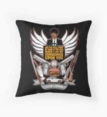 Pulp Heraldry Throw Pillow