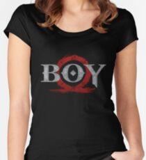 God of War : Boy Women's Fitted Scoop T-Shirt