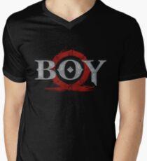 Camiseta para hombre de cuello en v Dios de la guerra: chico