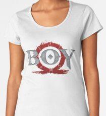 God of War : Boy Women's Premium T-Shirt