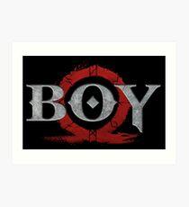 God of War : Boy Art Print