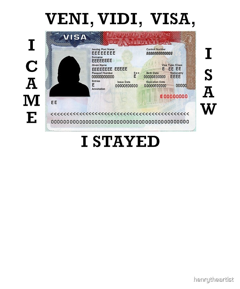 Visa Overstay by henrytheartist