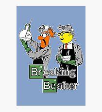 Breaking Beaker Photographic Print