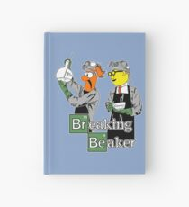Breaking Beaker Hardcover Journal