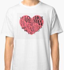 Heart background Classic T-Shirt