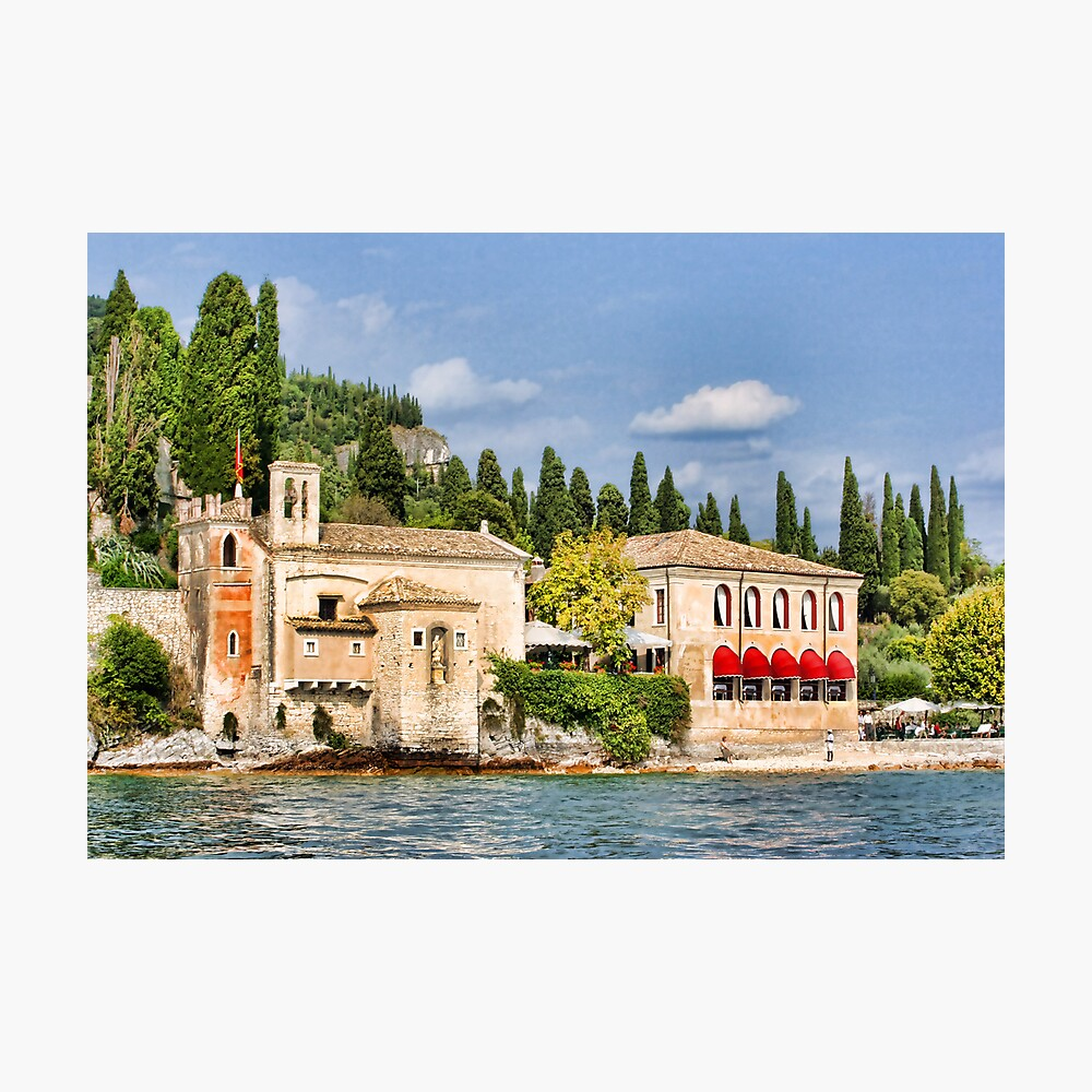 Locanda San Vigilio, Lake Garda Photographic Print