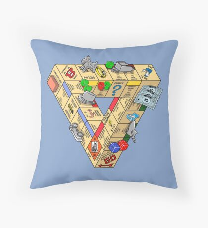 The Impossible Board Game Throw Pillow