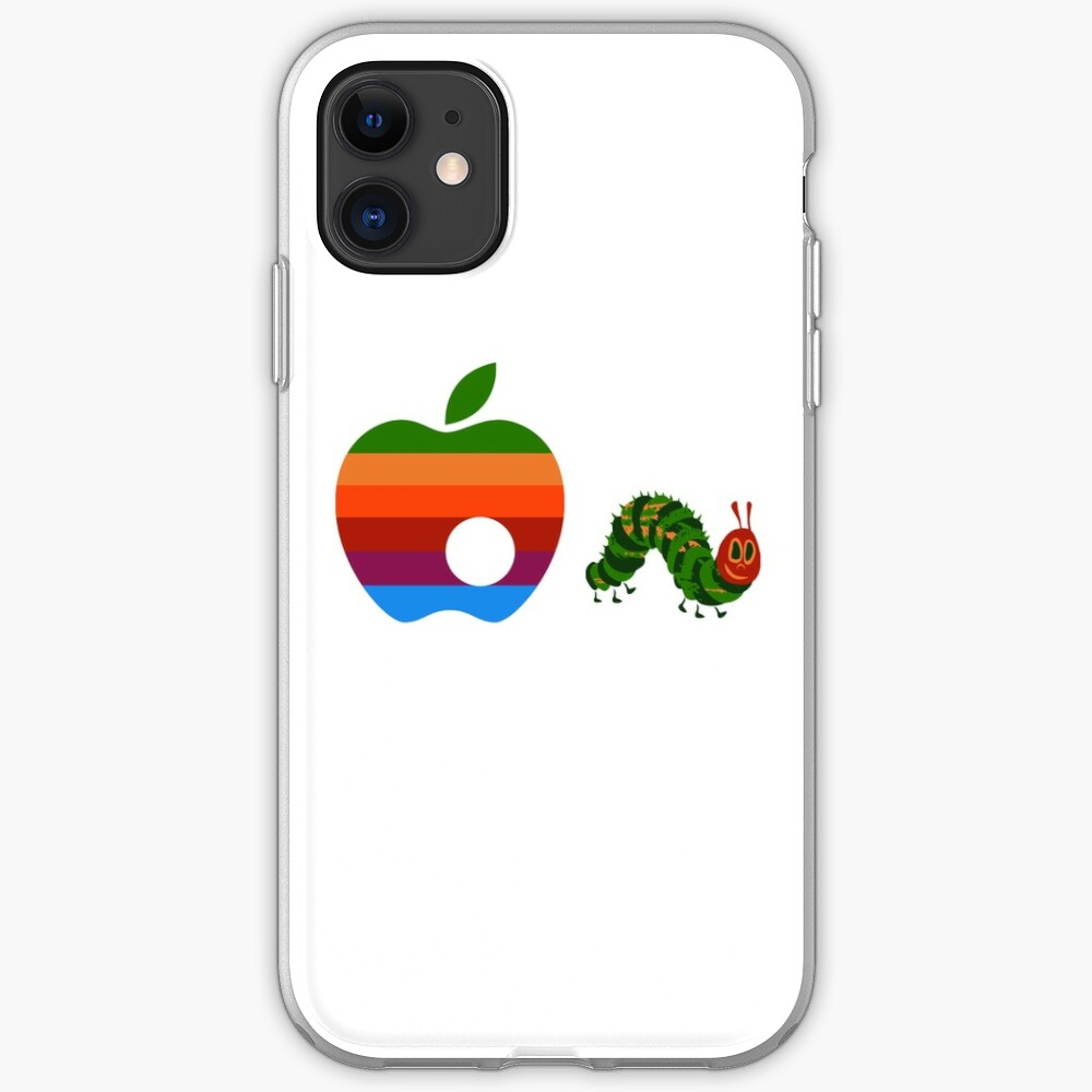Quot Very Hungry For Apple Quot Iphone Case Amp Cover By Zomboy