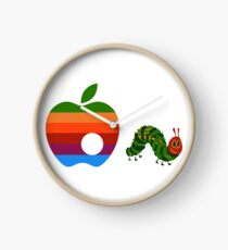 Very Hungry for Apple Clock