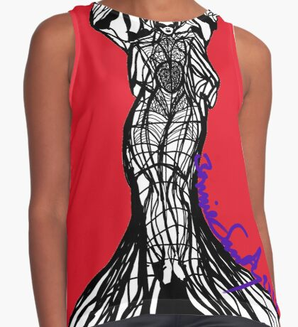 Woman Within2 Contrast Tank