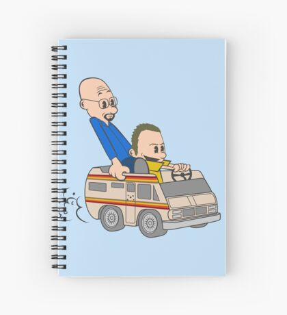 Jesse & Mr White Spiral Notebook