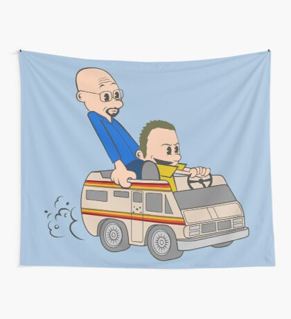 Jesse & Mr White Wall Tapestry