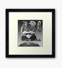 Graphic Novel Image - OBC T.V. Framed Print