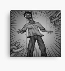 Graphic Novel Image - Breaking the chains of... Canvas Print