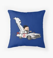 Who You Gonna Call GB? Throw Pillow