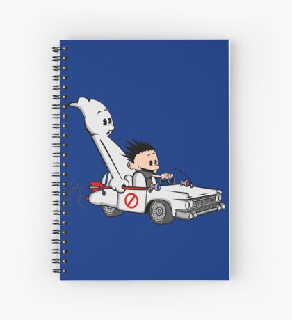 Who You Gonna Call GB? Spiral Notebook