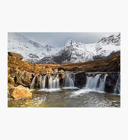 The Fairy Pools, Isle of Skye Photographic Print