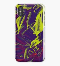Into the psychedelic forest iPhone Case