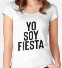 Yo Soy Fiesta ! Party Music Drinks Women's Fitted Scoop T-Shirt