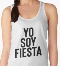 Yo Soy Fiesta ! Party Music Drinks Women's Tank Top