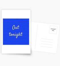 Out Tonight Postcards