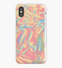 Into the pastel forest iPhone Case