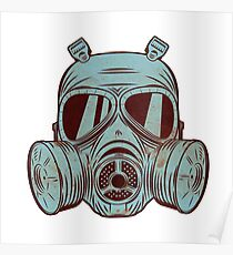 Gas Mask Poster