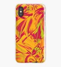 Into the orange forest iPhone Case