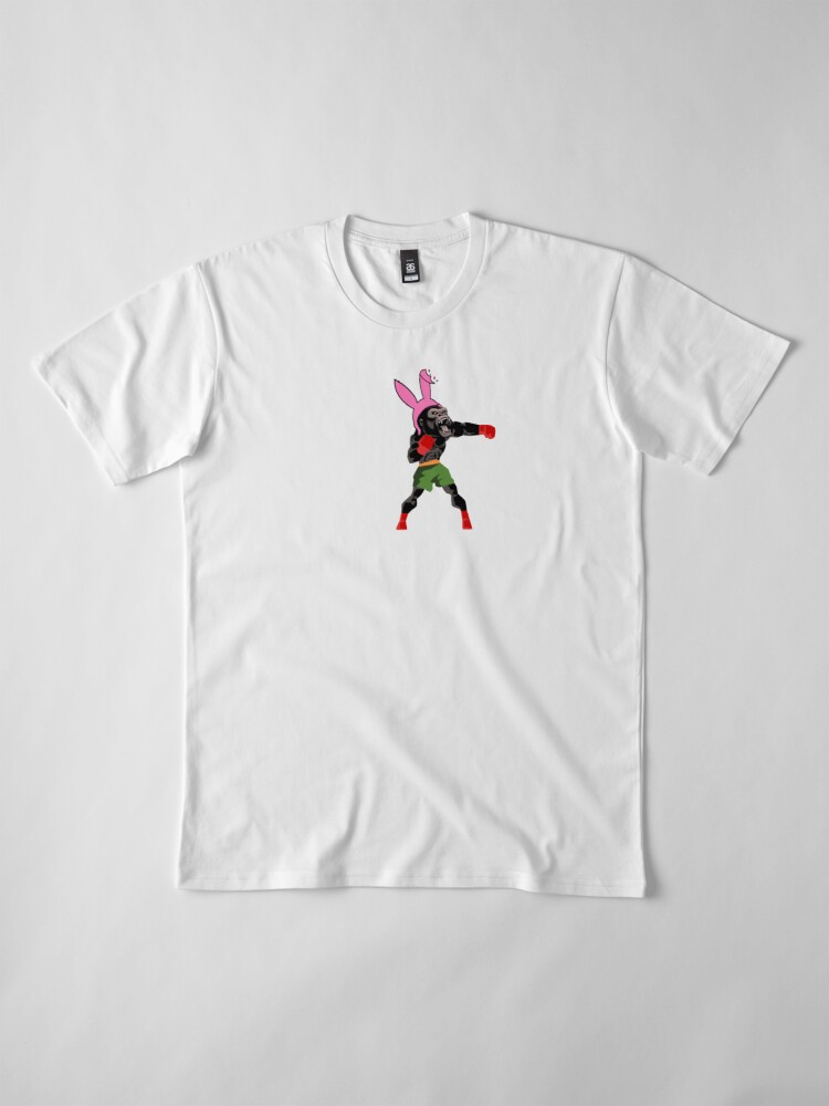 Alternate view of Lucky Punch Teeny Tiny Gorilla Premium T-Shirt