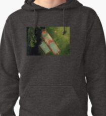 Basketball place in the summer gift idea Pullover Hoodie