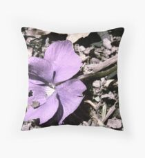 faded. Throw Pillow