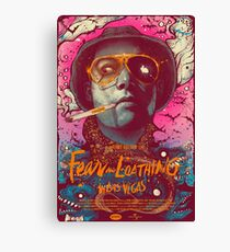 Fear and Loathing in Las Vegas Canvas Print