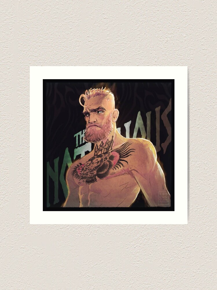 Conor McGregor poster wall art home decoration photo print 24x24 inches