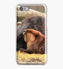 Beaverly love iPhone Case/Skin