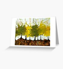 Mystic Trees Greeting Card
