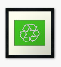 Recycle! Framed Print
