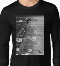 Graphic Novel Image - Robbie Digital enters the information super highway Long Sleeve T-Shirt