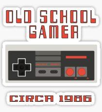NES Controller Old School Gamer 80's Nostalgia T Shirt Sticker
