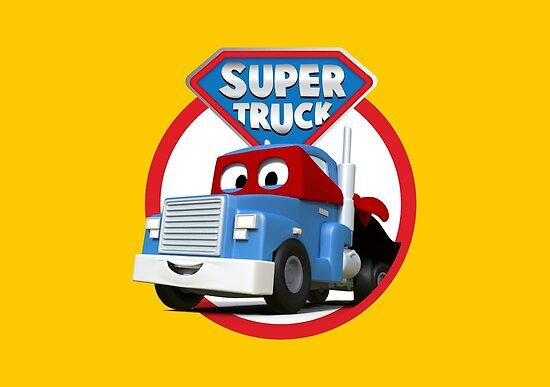 « Carl le Super Truck à Car City » par AmuseAnimation