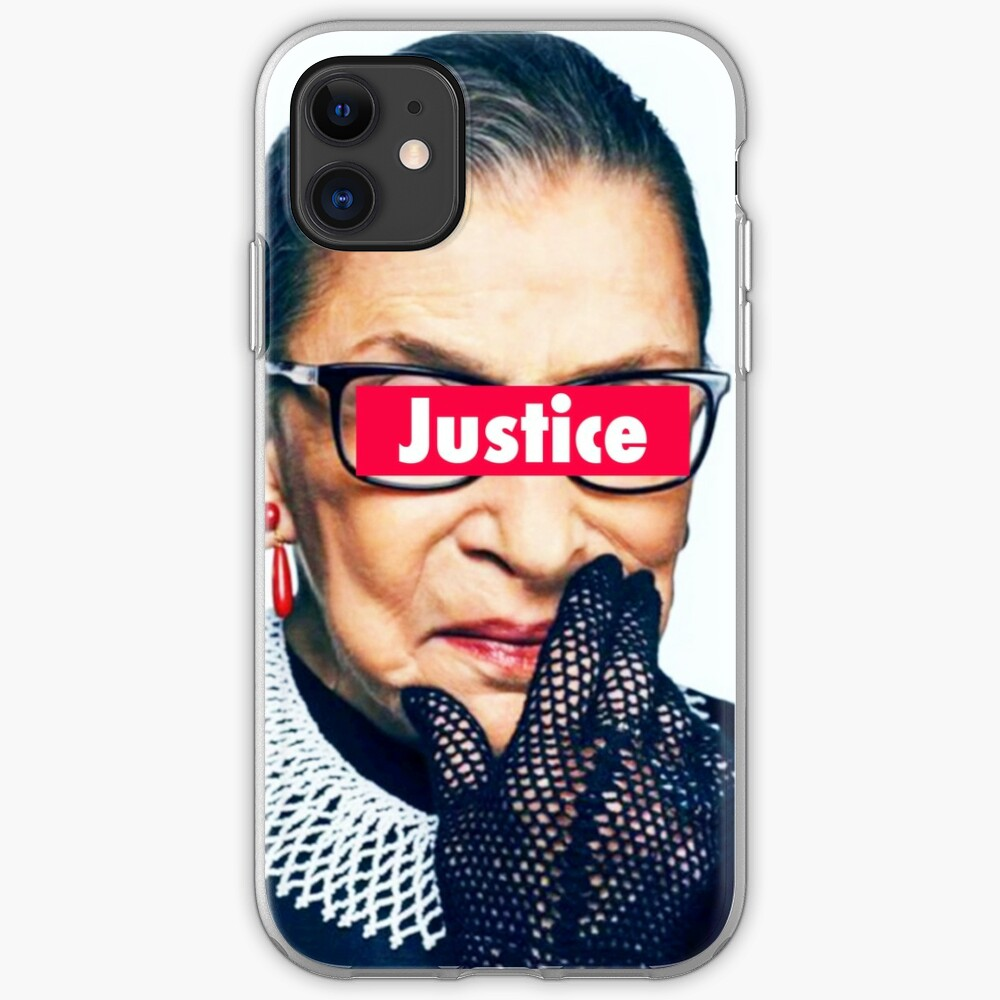 RBG - Supreme Court JUSTICE iPhone Case & Cover