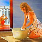 Cheerful Chores by DigitalandPhoto