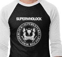 Superwholock Ramones Men's Baseball ¾ T-Shirt