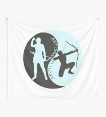 Artemis and Apollo Wall Tapestry