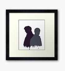 Sherlock & John Framed Print