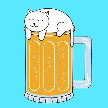 Cat Beer by coffeeman