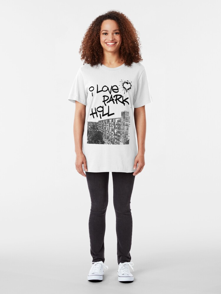 Alternate view of I Love Park Hill Slim Fit T-Shirt