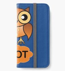 The Farting Owl - Pootin' not Hootin' iPhone Wallet/Case/Skin