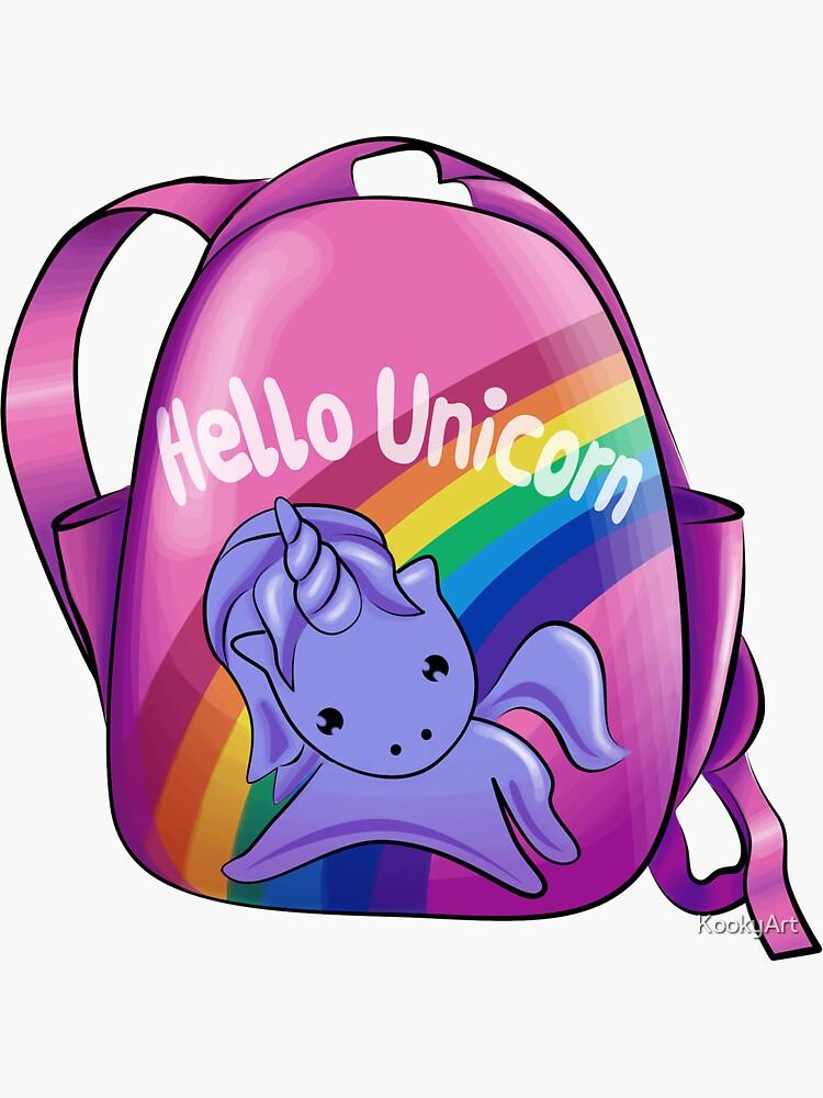 Hello Unicorn by KookyArt