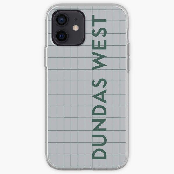 DUNDAS WEST Subway Station iPhone Soft Case